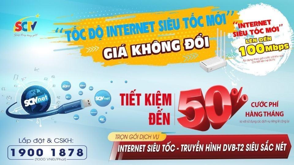 nhà mạng internet sctv