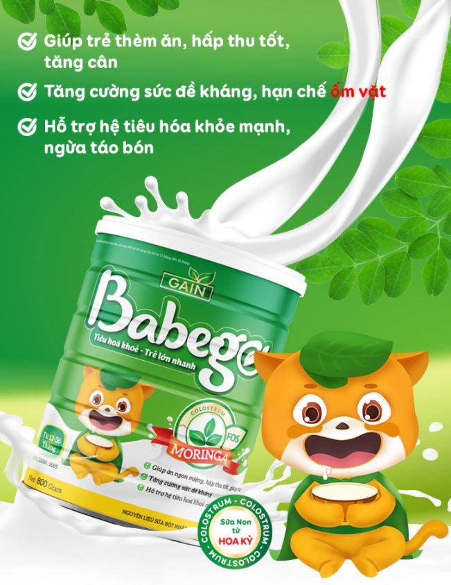 sữa babego có tốt không
