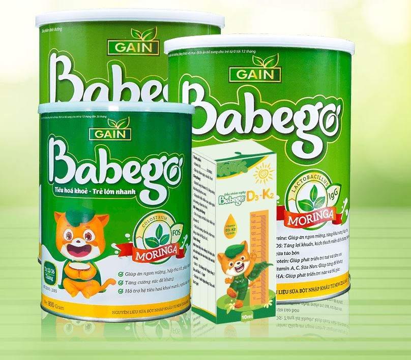 review sữa thảo dược chùm ngây babego