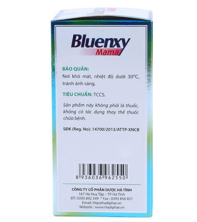 viên uống lợi sữa bluenxy mama