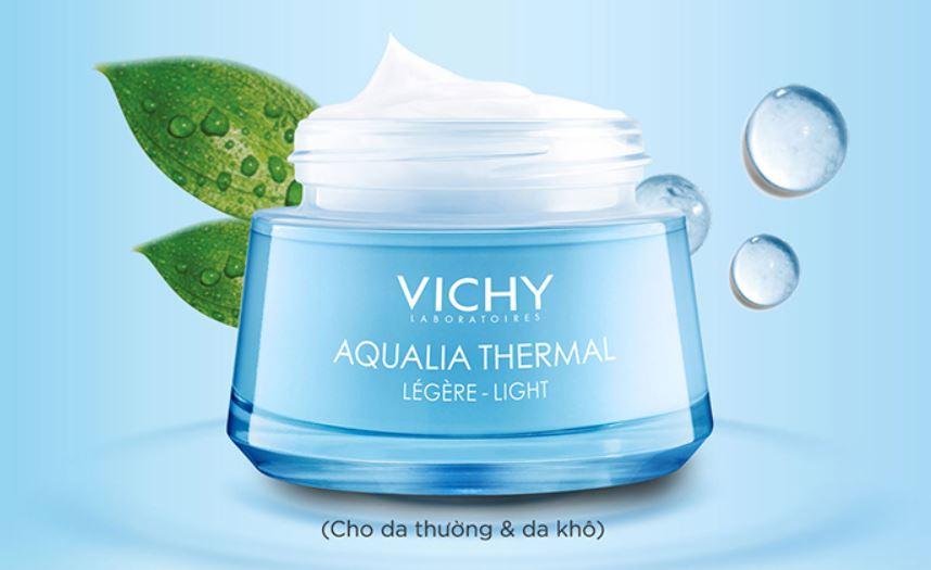 Kem dưỡng ẩm cho da dầu Vichy Aqualia Thermal