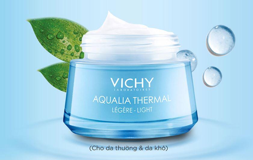Kem dưỡng ẩm cho kem nhạy cảm Vichy Aqualia Thermal Light