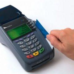 máy quẹt thẻ ngân hàng