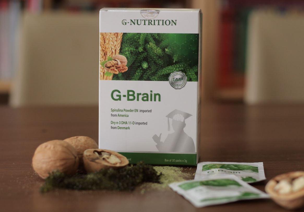 cốm trí não g-brain 10