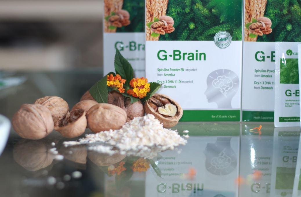cốm trí não g-brain 11