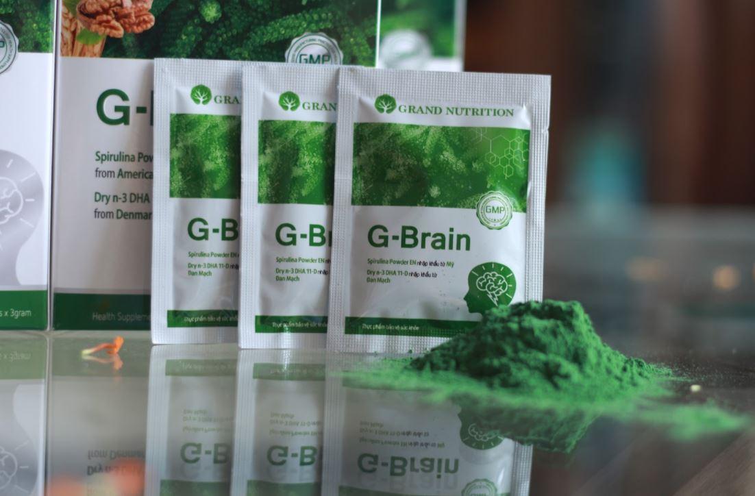 cốm trí não g-brain 15