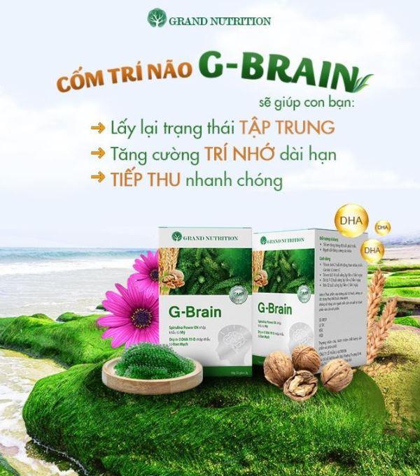 cốm trí não g-brain 4