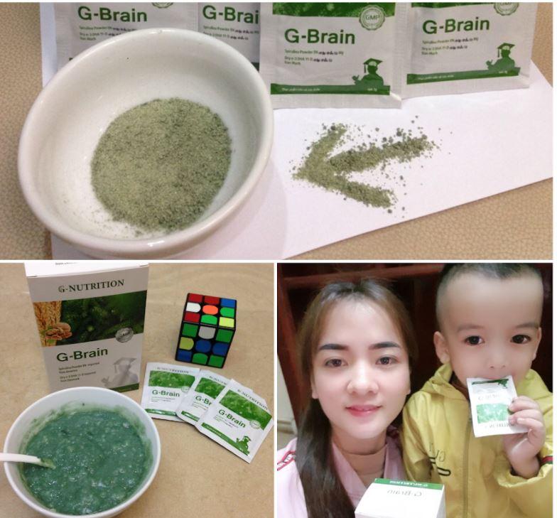 cốm trí não g-brain 5