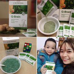 cốm trí não g-brain 6
