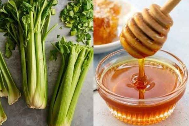 nước ép cần tây mật ong 10