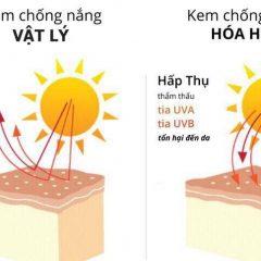 kem chống nắng vật lý tốt 1