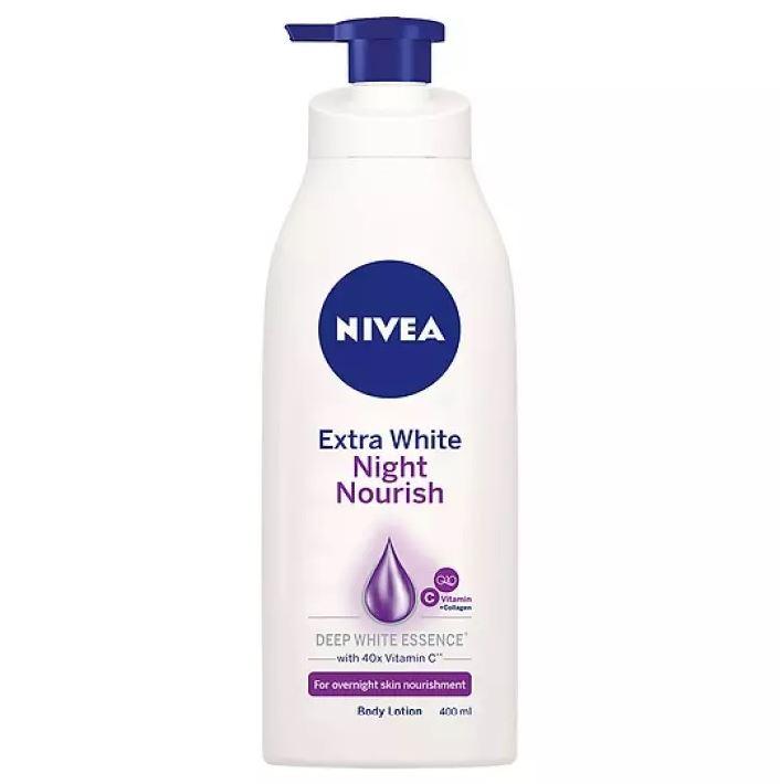 Sữa dưỡng thể trắng da Nivea ban đêm giá rẻ