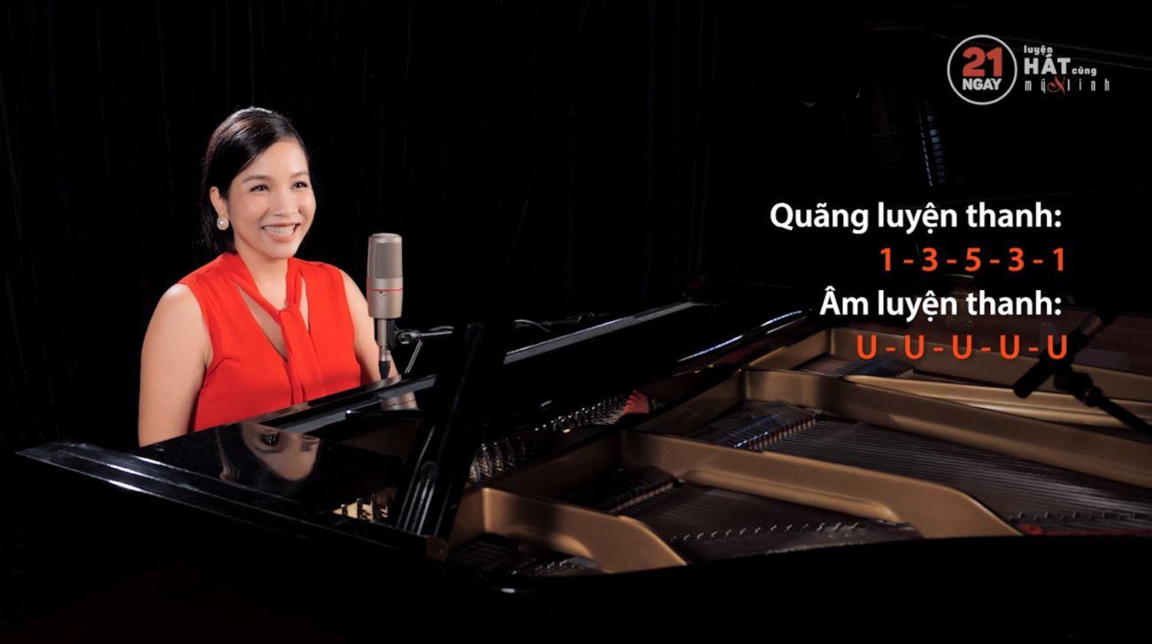 21 ngày luyện hát cùng ca sĩ Mỹ Linh 1