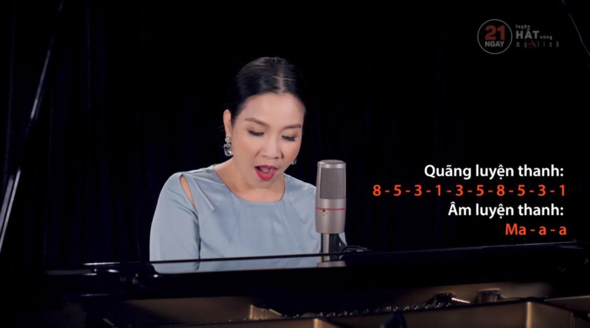 21 ngày luyện hát cùng ca sĩ Mỹ Linh 2