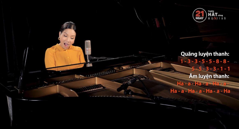 21 ngày luyện hát cùng ca sĩ Mỹ Linh 4