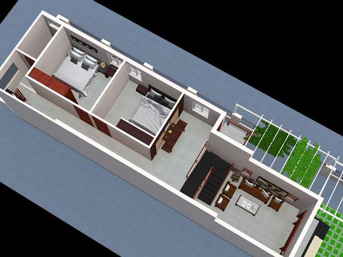 nhà 1 tầng hiện đại 1
