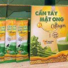 bột cần tây mật ong Collagen 1