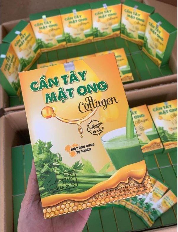 bột cần tây mật ong Collagen 2