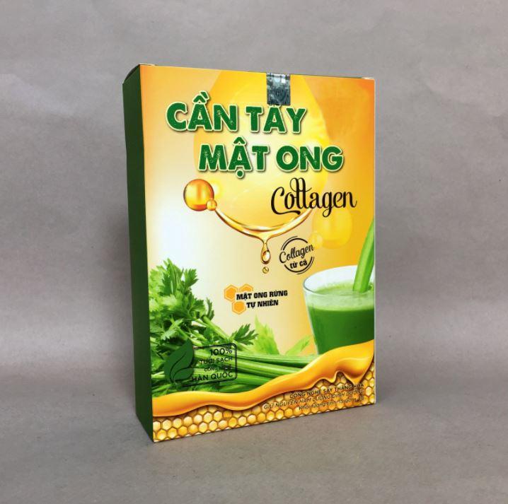 bột cần tây mật ong Collagen 3