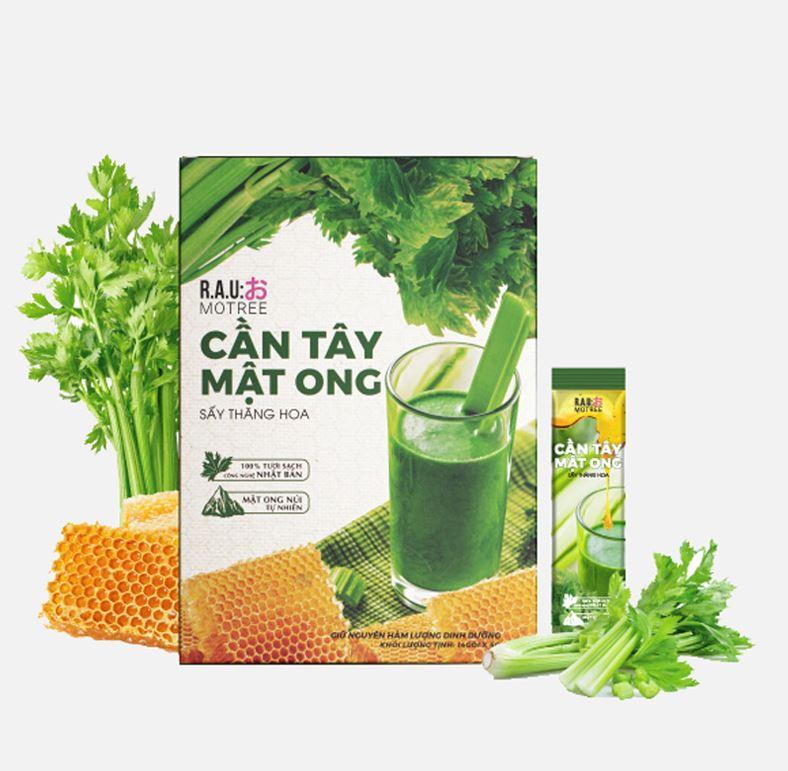 bột cần tây mật ong Collagen 5