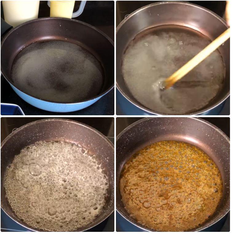 cách làm bánh Flan bằng nồi chiên không dầu 3