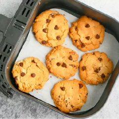 cách làm bánh quy bằng nồi chiên không dầu 13
