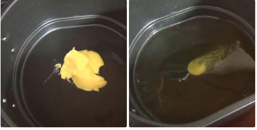 cách làm bắp rang bơ bằng nồi chiên không dầu 2
