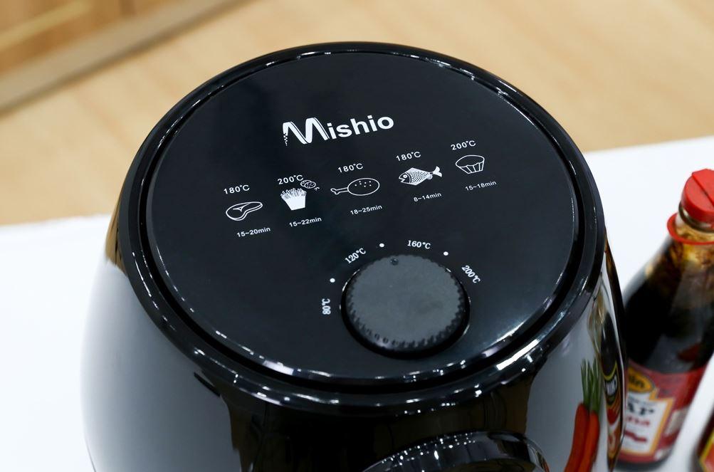 Cách sử dụng nồi chiên không dầu Mishio 5