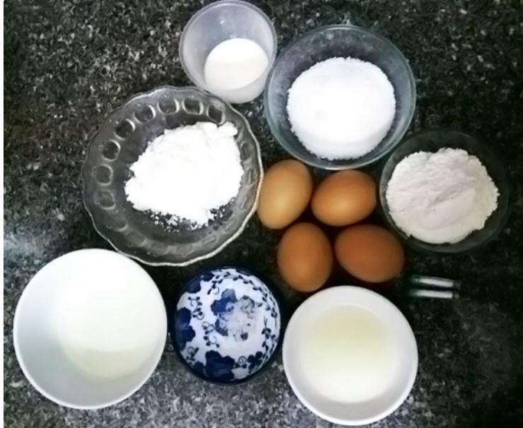 cách làm bánh Gato bằng nồi chiên không 1