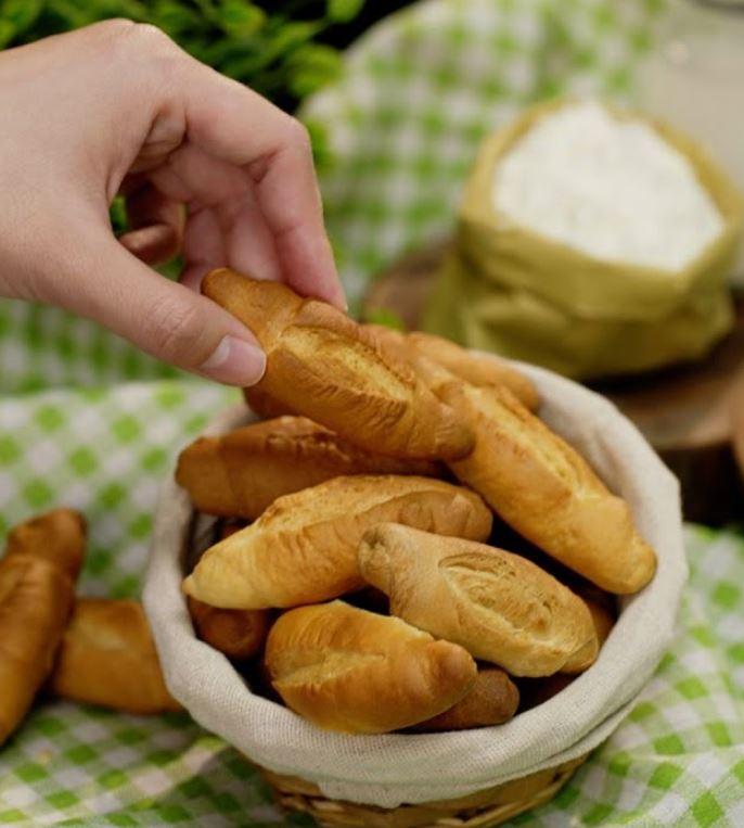 cách làm bánh bằng nồi chiên không dầu1