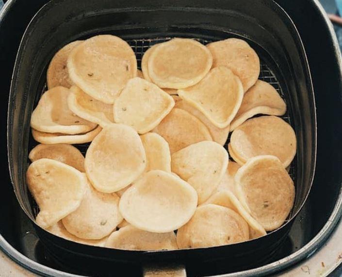 cách làm bánh bằng nồi chiên không dầu21