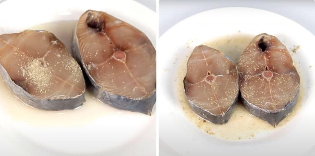 Hướng dẫn cách nướng cá bằng nồi chiên không dầu 15
