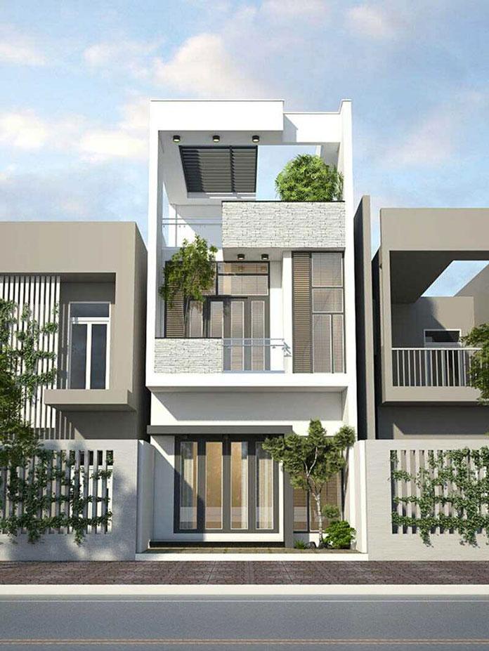 thiết kế nhà đẹp 2 tầng 1