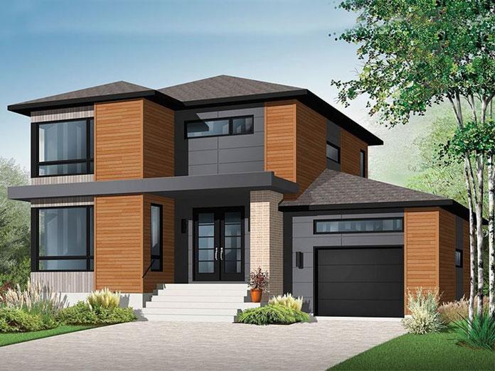 thiết kế nhà đẹp 2 tầng 2