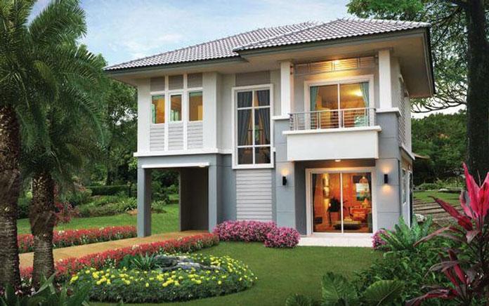 thiết kế nhà đẹp 2 tầng 3
