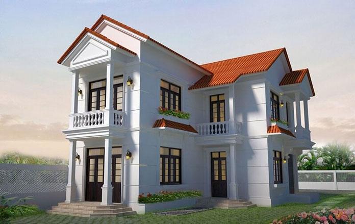 thiết kế nhà đẹp 2 tầng 4