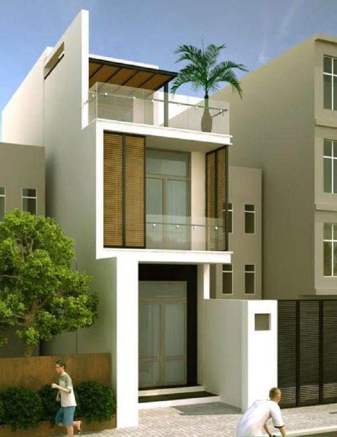 mẫu nhà đẹp 2 tầng 5x20 3