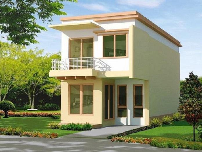 các mẫu nhà 2 tầng đơn giản 1