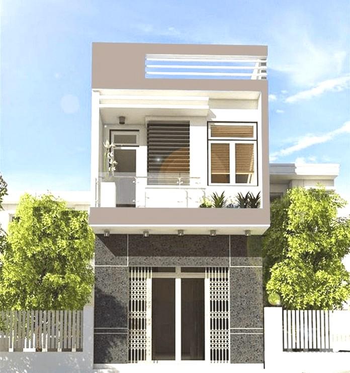 mẫu nhà 2 tầng đẹp giá 700 triệu 1