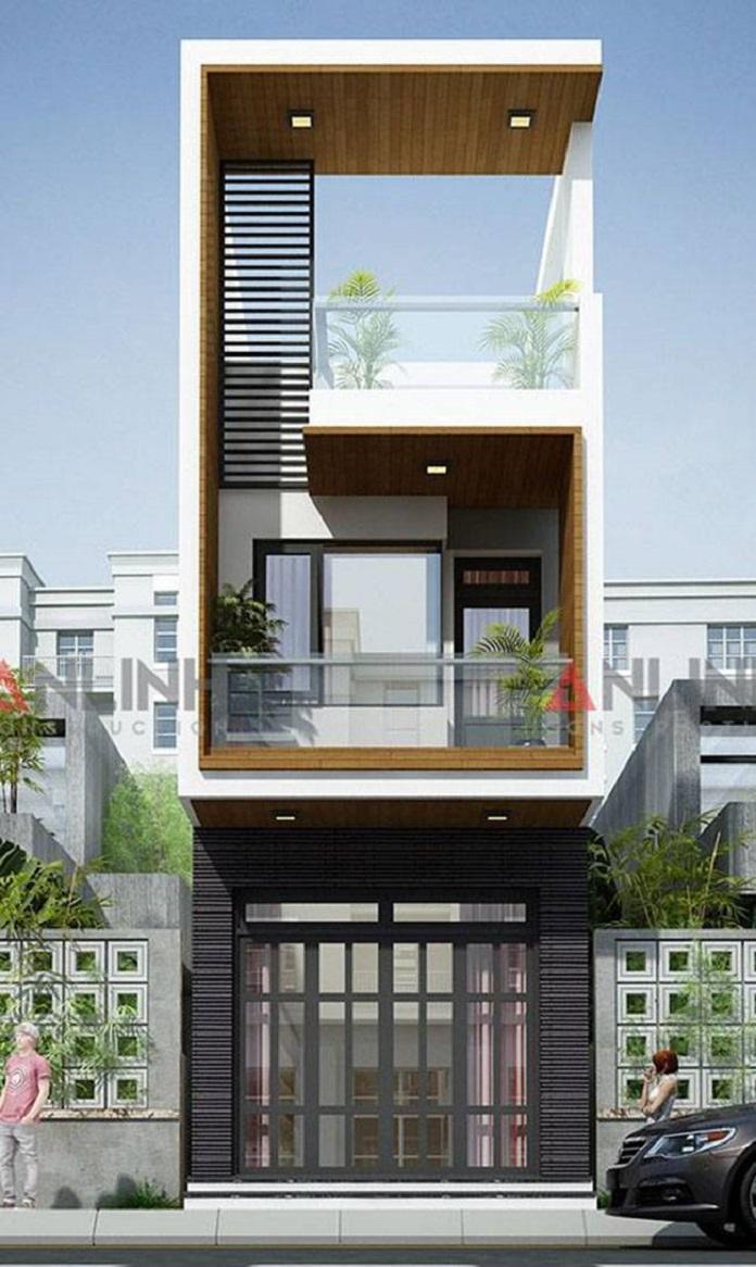 mẫu nhà 3 tầng đẹp 2
