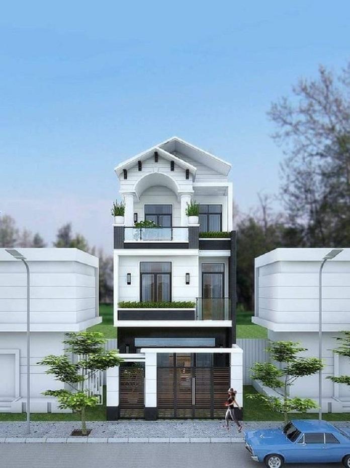 mẫu nhà 3 tầng đẹp 3