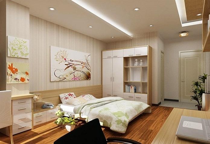 mẫu nhà ống 1 tầng đẹp 3 phòng ngủ 4
