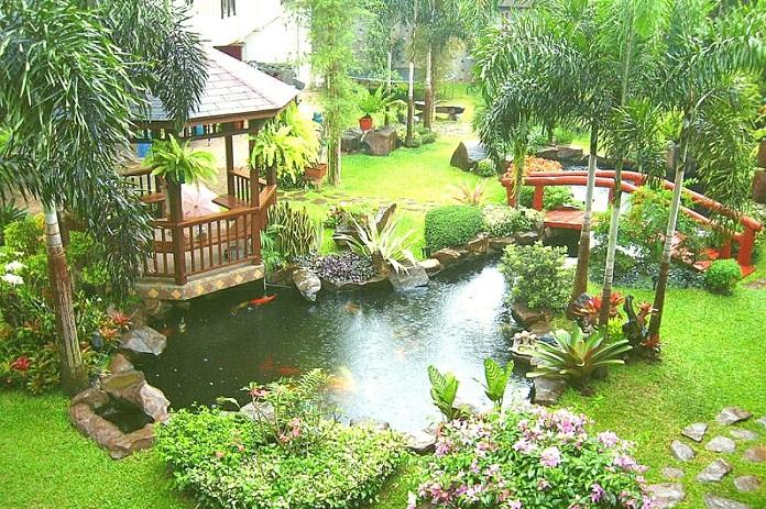 mẫu nhà vườn đẹp rẻ 3