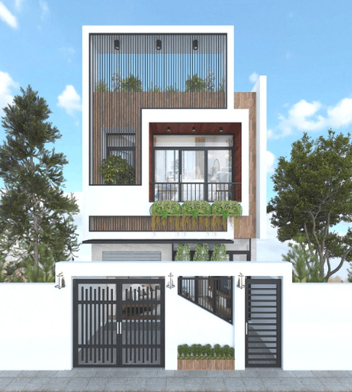 nhà 2 tầng hiện đại 1