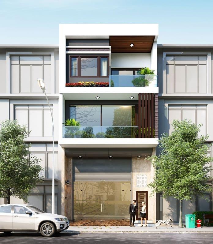 nhà phố 3 tầng hiện đại 3