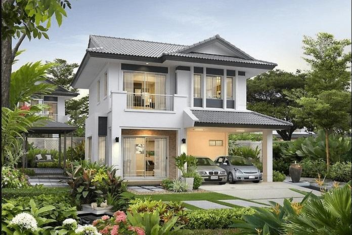 thiết kế nhà vườn đẹp 3